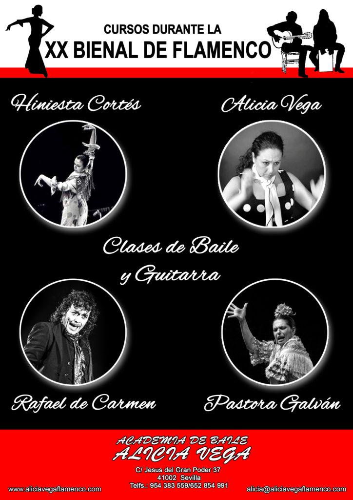Cursos durante la Bienal de Flamenco 2018